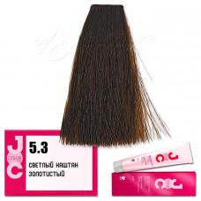 Краска для волос JOC Color. Светлый золотистый каштан