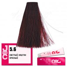 Краска для волос JOC Color. Светлый красный каштан