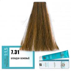 Краска для волос Olioseta Oro Del Marocco 7.31, Barex