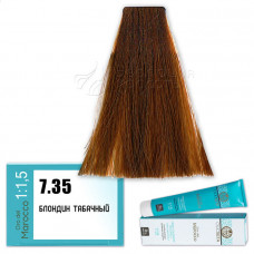Краска для волос Olioseta Oro Del Marocco 7.35, Barex
