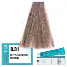 Краска для волос Olioseta Oro Del Marocco 8.31, Barex