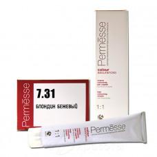 Краска для волос Permesse 7.31, Barex