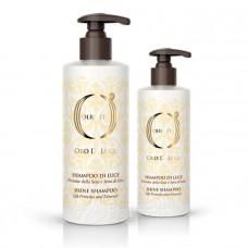 Шампунь-блеск с протеинами шелка и экстрактом семян льна.  Shine Shampoo  (Barex Italiana)