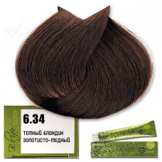 Краска для волос B.Life Color 6.34, Farmavita