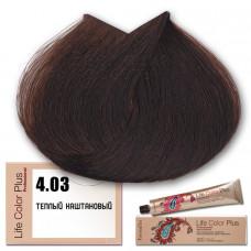 Краска для волос Life Color Plus 4.03, Farmavita