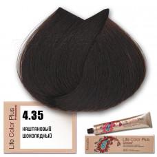 Краска для волос Life Color Plus 4.35, Farmavita
