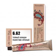 Краска для волос Life Color Plus 6.62, Farmavita