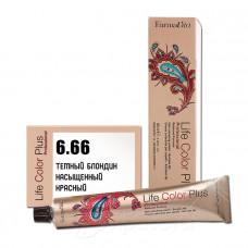 Краска для волос Life Color Plus 6.66, Farmavita