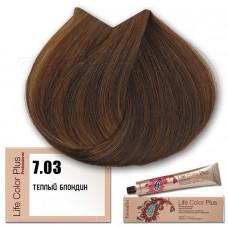 Краска для волос Life Color Plus 7.03, Farmavita