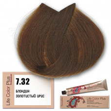 Краска для волос Life Color Plus 7.32, Farmavita