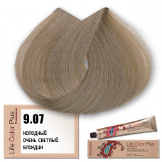 Краска для волос Life Color Plus 9.07, Farmavita