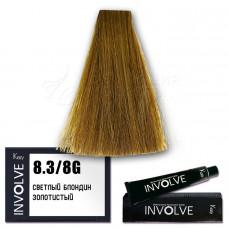 Краска для волос Involve Color 8.3, Kezy