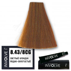Краска для волос Involve Color 8.43, Kezy