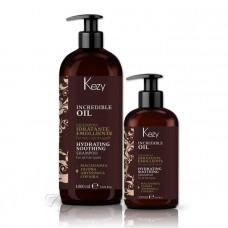 Шампунь для волос  увлажняющий и разглаживающий Incredible, Kezy