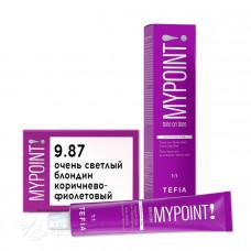 Гель-краска для волос тон в тон MYPOINT 9.87, Tefia MY
