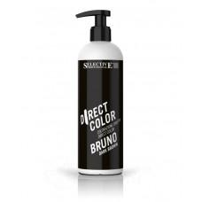 Краска для волос Direct Color Selective - темно-коричневая