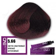 Краска для волос Colorevo. Светло-каштановый красный интенсивный
