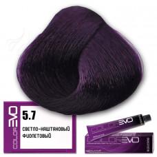 Краска для волос Colorevo. Светло-каштановый фиолетовый