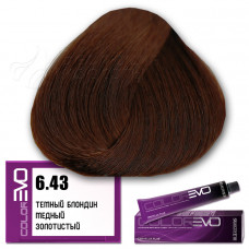 Краска для волос Colorevo 6.43, Selective