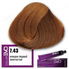 Краска для волос Colorevo 7.43, Selective