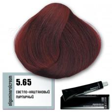 Краска для волос Oligomineral Cream. Пурпурный светло-каштановый