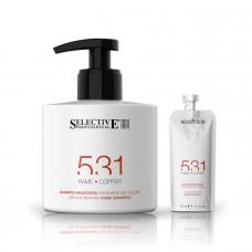 Оттеночный шампунь-маска для волос 531 Selective - медный