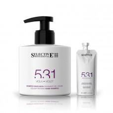 Оттеночный шампунь-маска для волос 531 Selective - фиолетовый