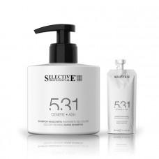 Оттеночный шампунь-маска для волос 531 Selective - пепельный