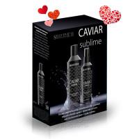 """Набор """"Уход за волосами с экстрактом черной и белой икры"""" Caviar Sublime, Selective"""