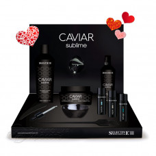 """Набор """"Глубокое восстановление и омолаживание волос и кожи головы"""" Caviar Sublime, Selective"""