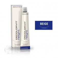 Тонирование мелированных волос Decolorvit Relight Selective - бежевый