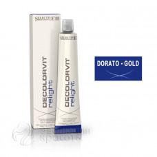 Тонирование мелированных волос Decolorvit Relight Selective - золотой