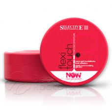Воск-гель для эластичной фиксации волос Flexi Touch NOW, Selective