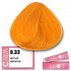Краска для волос Color Creats 0.33, Tefia