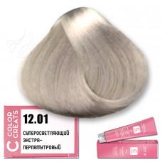 Краска для волос Color Creats 12.01, Tefia