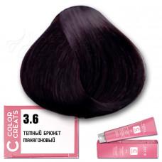 Краска для волос Color Creats 3.6, Tefia