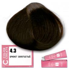Краска для волос Color Creats 4.3, Tefia