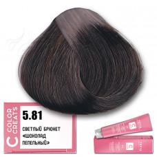 Краска для волос Color Creats 5.81, Tefia