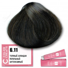 Краска для волос Color Creats 6.11, Tefia