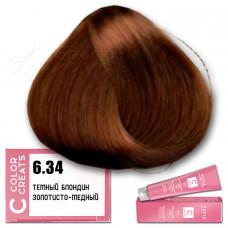 Краска для волос Color Creats 6.34, Tefia
