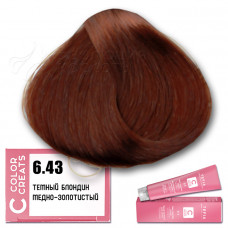 Краска для волос Color Creats 6.43, Tefia