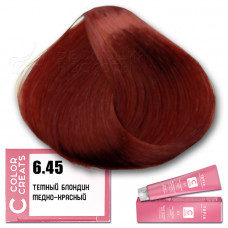 Краска для волос Color Creats 6.45, Tefia