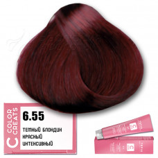 Краска для волос Color Creats 6.55, Tefia