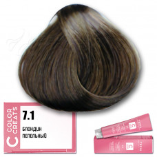 Краска для волос Color Creats 7.1, Tefia