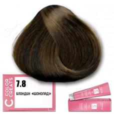 Краска для волос Color Creats 7.8, Tefia