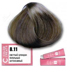 Краска для волос Color Creats 8.11, Tefia