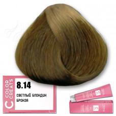 Краска для волос Color Creats 8.14, Tefia
