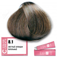 Краска для волос Color Creats 8.1, Tefia