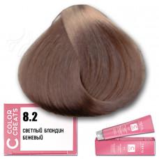 Краска для волос Color Creats 8.2, Tefia