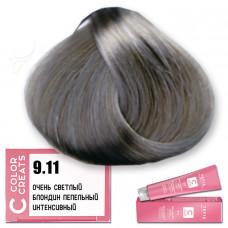 Краска для волос Color Creats 9.11, Tefia